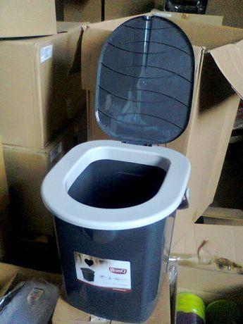 ведро туалет Польша (выдерживает 150 кг веса)