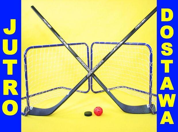 ZESTAW do gry FISCHER 2w1 hokej unihokej LATO+ZIMA