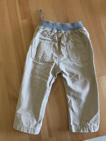 Spodnie 80 9/12 msc