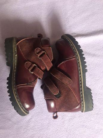 Ортопедические демисезонные ботинки каблук Томаса