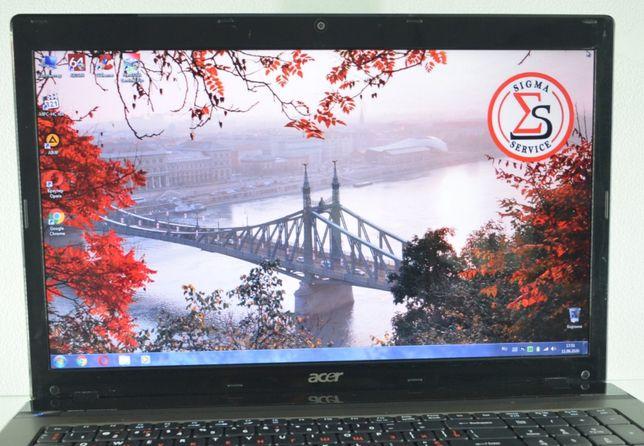 """ACER 7750. Ноутбук с большим """"17.3"""" экраном для работы. Магазин SIGMA"""