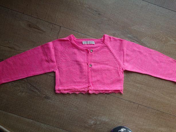 Terranova sweterek roz 80/86