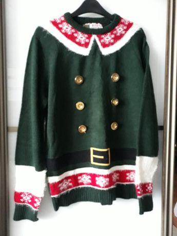 свитер новогодний мужской р. М