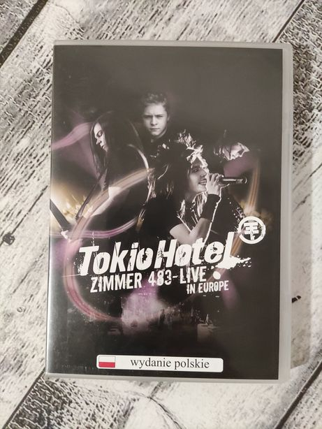 Tokio Hotel Zimmer 483 Live in Europe DVD