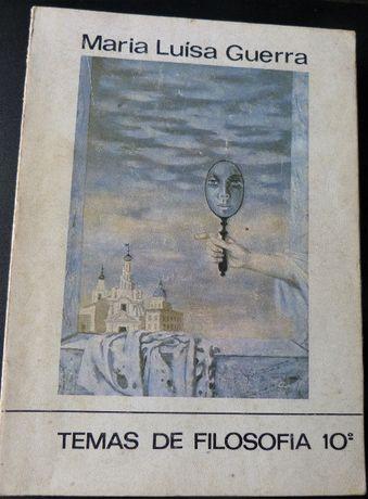"""""""Temas de Filosofia 10º Ano"""" 1980"""