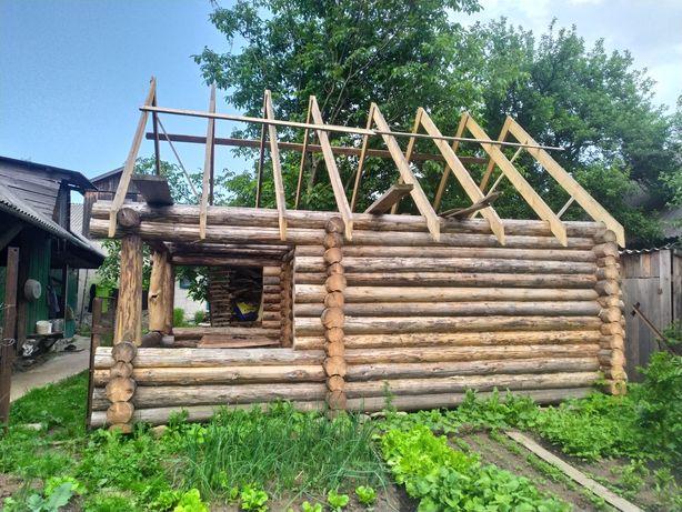 Готова баня чи дачний будиночок (зруб)