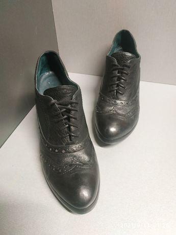 Туфли, оксфоды, кожанные