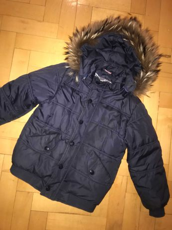Куртка с мехом тёплая