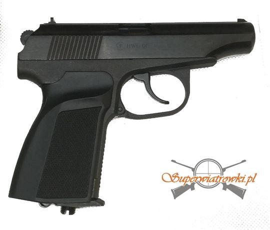 Wiatrówka pistolet Baikał Makarov MP 654 Black