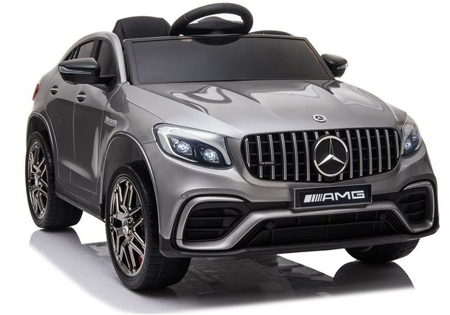 Auto na akumulator Mercedes QLS-5688 Srebrny Lakier 4x4 wyprzedaż