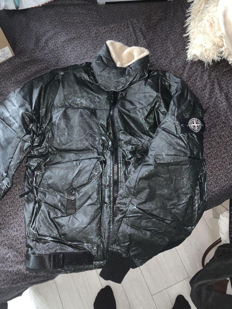 45198 Stone Island HIDDEN REFLECTIVE jacket c p company dupe napapijri