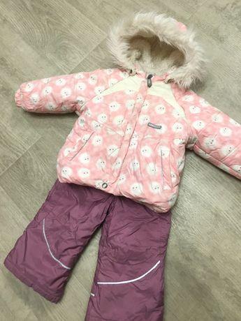 Куртка и комбинезон Lenne на девочку на рост 86