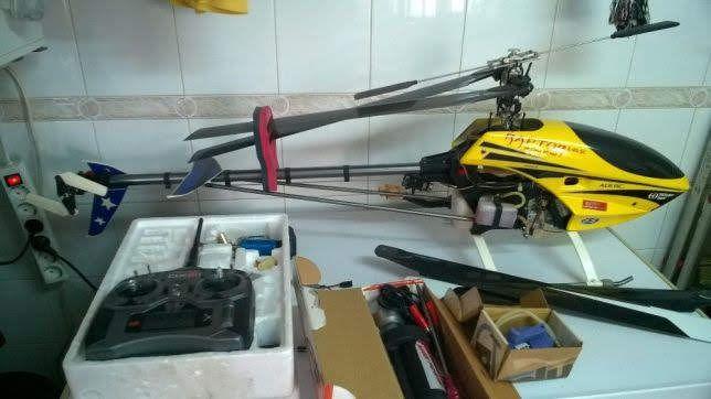 Helicóptero Raptor 50 3D