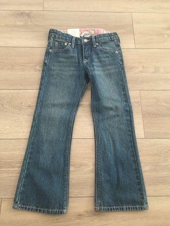Spodnie jeans dziecięce