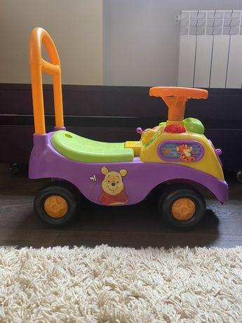 Музыкальная машинка толокар Kiddieland Disney Винни Пух