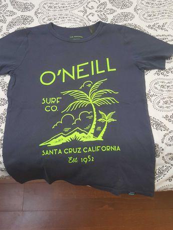 T-shirt O'Neil Azul escura rapaz