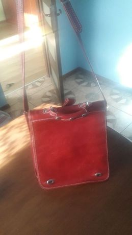 Skórzana torebka firmy MPG San Gimignano