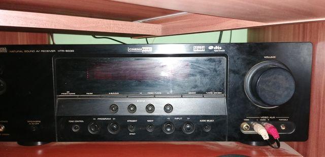 Yamaha HTR-6030 amplituner + kino domowe+ zestaw glosnikow Prism Onyx