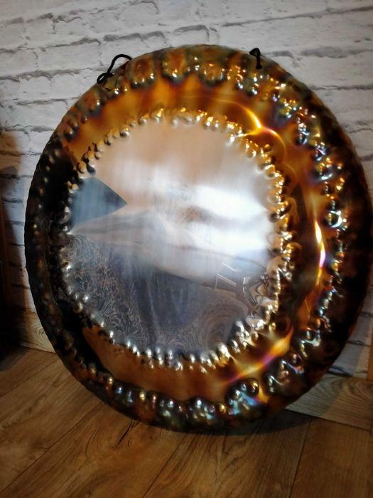 Gong 70 cm lekki z aksamitnymi brzemieniem Ostróda - image 1