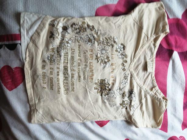Koszulka na krutki rękaw śliczna XS cena 15 zł