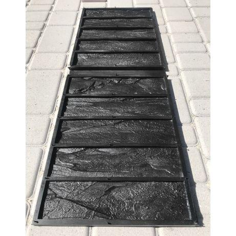 Форма для кирпича Гранитный Скол; резиновая форма для гипсовой плитки