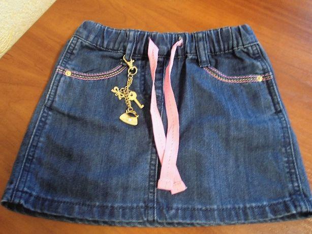 Продам юбку джинсовую на девочку