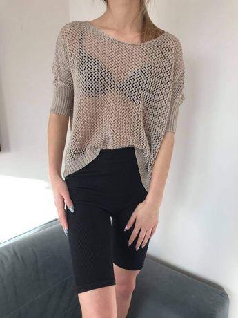 Sweterek Orsay azurowy