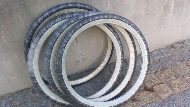 pneus novos faixa branca mobylette motobecane