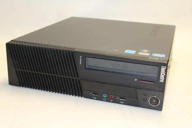 Używany komputer stacjonarny Lenovo M81 i3 4GB 120 SSD