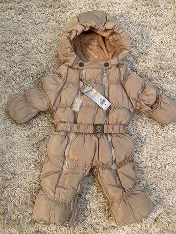 Детский зимний комбинезон Chicco