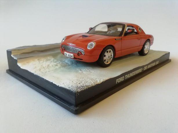 1/43 Ford Thunderbird - James Bond [007] (Miniatura - Eaglemoss)