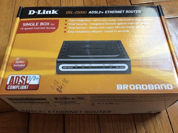 Модем Маршрутизатор D-Link - 2500U ADSL2+ETHERNET ROUTER