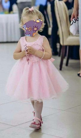 Sukienka dla małej damy od 18 do 24 mies.