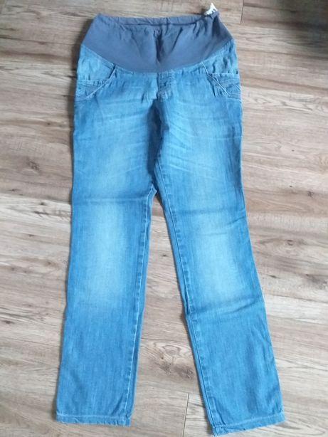 Spodnie jeansowe ciążowe M