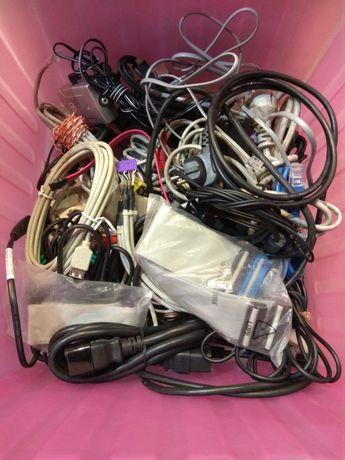 Kable różne USB VGA zasliacze, sieciowe, internetowe