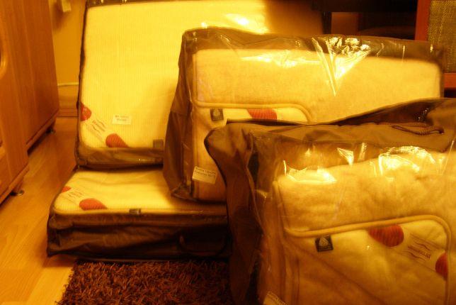 kołdra materac poduszka pościeli wełnianej Prosense 2 kpl.