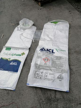 Big Bag o Udźwigu 600 Kg / nowe worki idealne na nawozy czy zboża