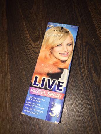 Pastel Spray Live Apricot Schwarzkopf NOWY