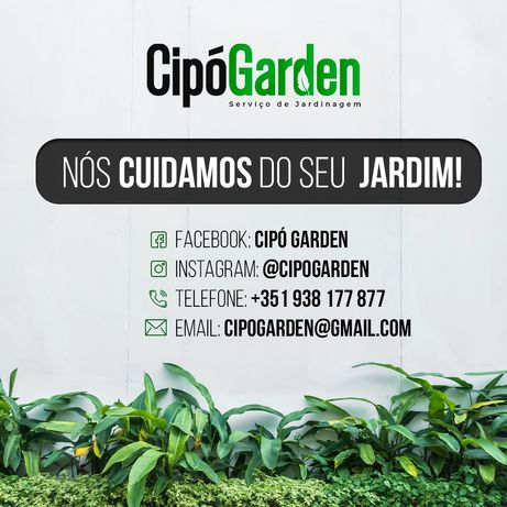 Jardins e limpeza!