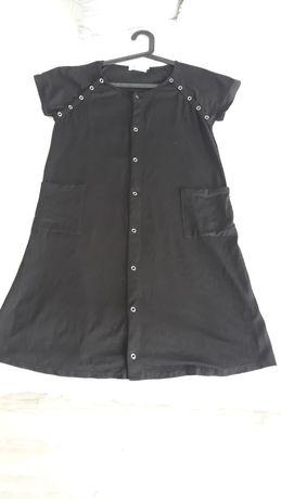 Koszula nocna czarna