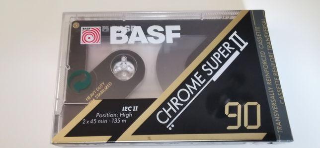 Basf Chrome Super II 90 kaseta audio Nowa