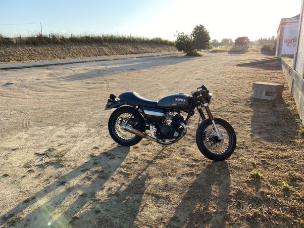 Hanway Raw 125 Cafe Racer
