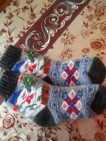 Детские носочки, ( ШЕРСТЬ) можно для девочки  и для  мальчика  19 см
