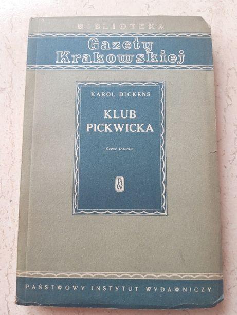 Klub Pickwicka Karol Dickens cz.3 PRASA 1951