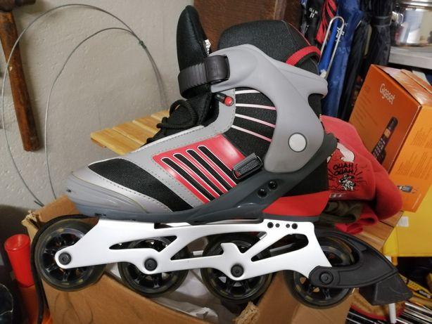 Vendo patins em Linha como novos. Óptimo estado.