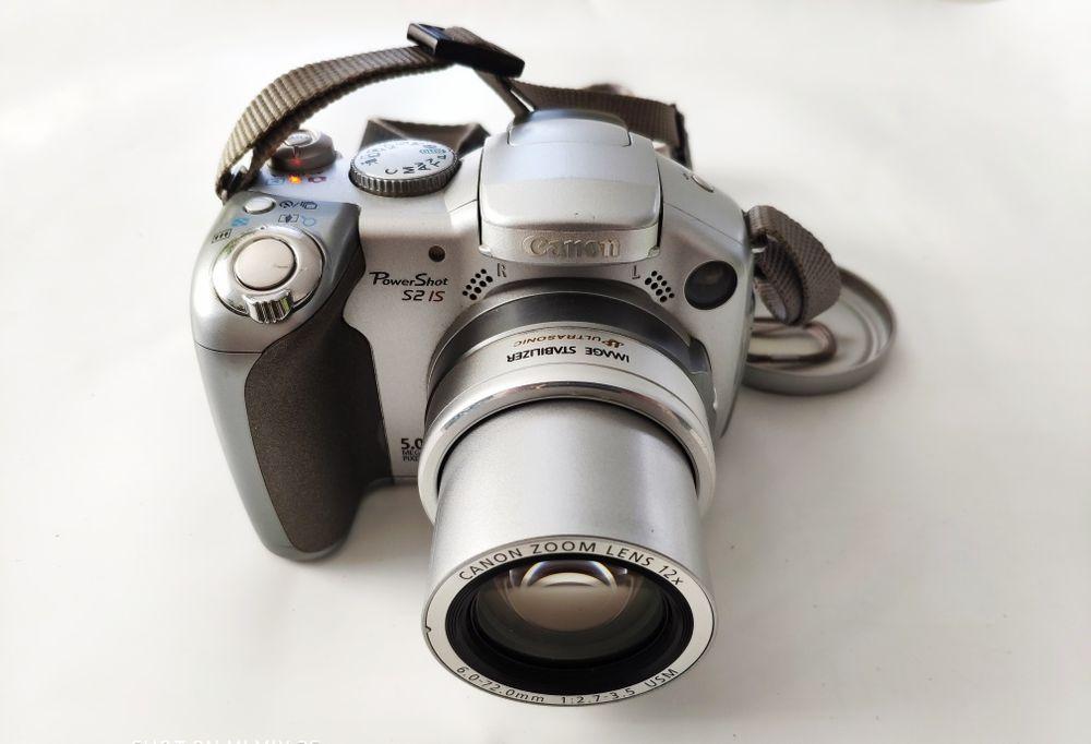Canon S2 IS! Uszkodzony - uruchamia się! Mielec - image 1