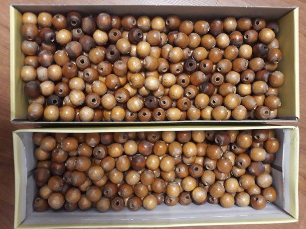 Drewniane koraliki 2 kg