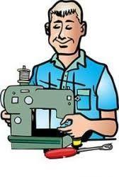 Ремонт швейных машин машинок настройка обучение!!!