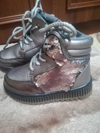 Дитяче зимове взуття(23розмір)