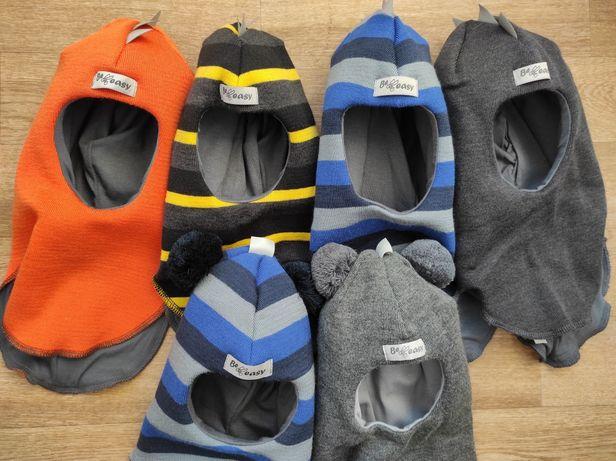 Распродажа зимние шлемы шапки Be easy  шерсть  зима